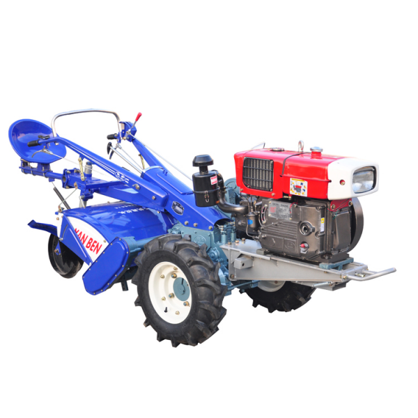 30HP Agriculture two wheels walking tractor with rotary tiller