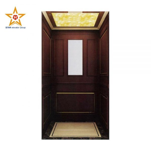 Low cost and cheap small home villa elevator without machine room