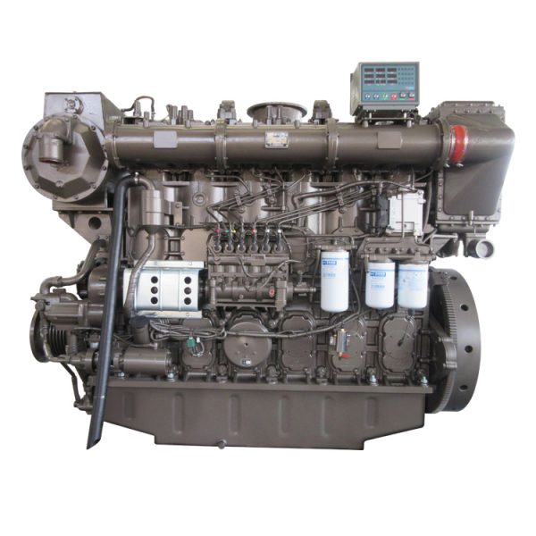 new 6 cylinder water cooled turbo 450hp inbord portable boat engines diesel engine for sale